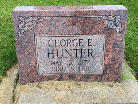 HUNTER, GEORGE E. - Van Buren County, Iowa | GEORGE E. HUNTER