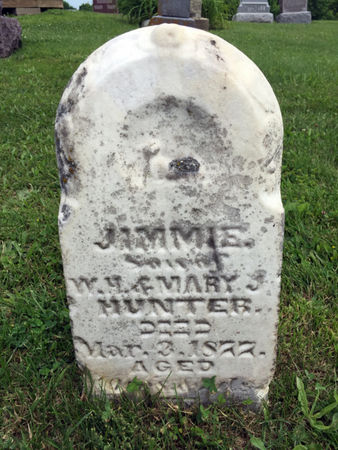 HUNTER, JIMMIE - Van Buren County, Iowa | JIMMIE HUNTER