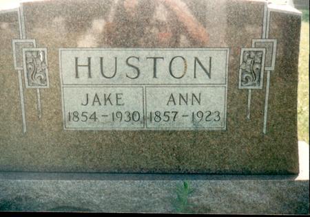 HUSTON, JACOB - Van Buren County, Iowa | JACOB HUSTON