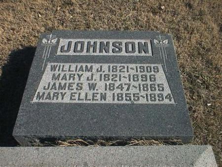 JOHNSON, MARY ELLEN - Van Buren County, Iowa   MARY ELLEN JOHNSON