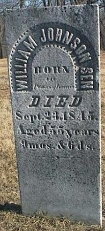 JOHNSON, WILLIAM SEN. - Van Buren County, Iowa | WILLIAM SEN. JOHNSON
