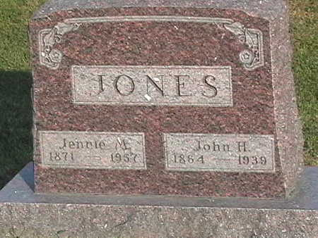 JONES, JOHN - Van Buren County, Iowa | JOHN JONES