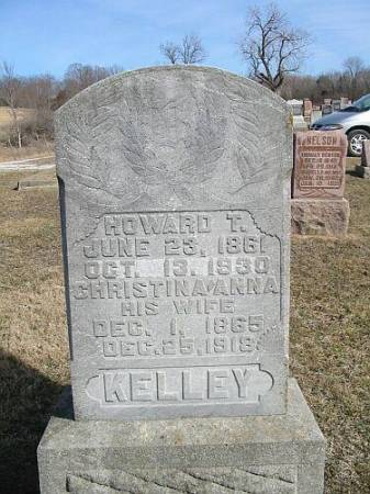 KELLEY, HOWARD T. - Van Buren County, Iowa | HOWARD T. KELLEY