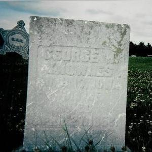KNOWLES, GEORGE H - Van Buren County, Iowa | GEORGE H KNOWLES