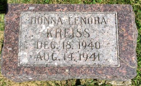 KREISS, DONNA LENORA - Van Buren County, Iowa | DONNA LENORA KREISS