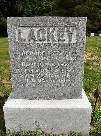 LACKEY, IDA E. - Van Buren County, Iowa | IDA E. LACKEY