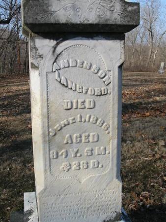 LANGFORD, ANDERSON - Van Buren County, Iowa | ANDERSON LANGFORD