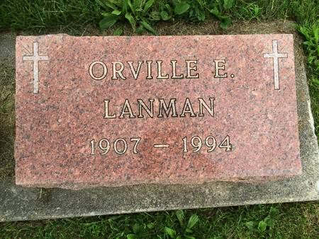 LANMAN, ORVILLE E. - Van Buren County, Iowa | ORVILLE E. LANMAN