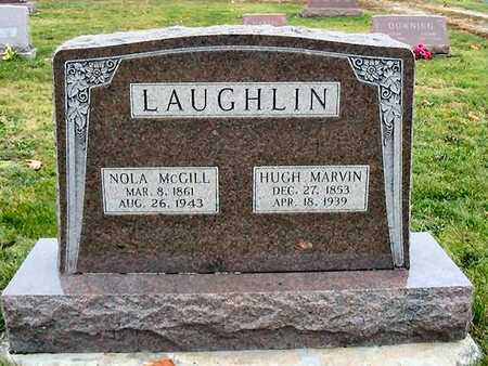 LAUGHLIN, HUGH MARVIN - Van Buren County, Iowa | HUGH MARVIN LAUGHLIN