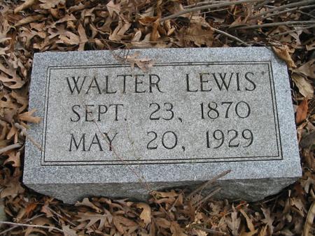 LEWIS, WALTER - Van Buren County, Iowa | WALTER LEWIS