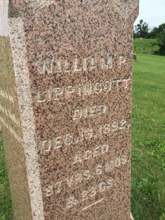 LIPPENCOTT, WILLIAM P. - Van Buren County, Iowa | WILLIAM P. LIPPENCOTT