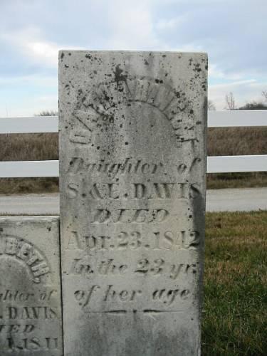 DAVIS, CATHARINE M. - Van Buren County, Iowa | CATHARINE M. DAVIS
