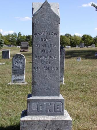 LONG, ISAAC C. - Van Buren County, Iowa | ISAAC C. LONG