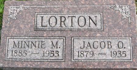 LORTON, MINNIE M. - Van Buren County, Iowa | MINNIE M. LORTON