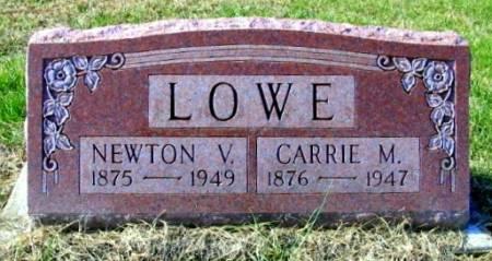 LOWE, CARRIE MAUDE - Van Buren County, Iowa | CARRIE MAUDE LOWE
