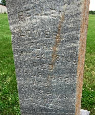 LOWERY, HELLEN - Van Buren County, Iowa | HELLEN LOWERY