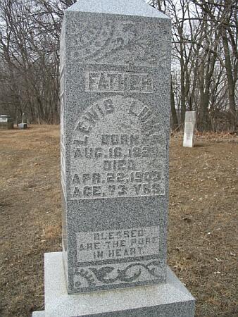 LUMB, LEWIS - Van Buren County, Iowa | LEWIS LUMB