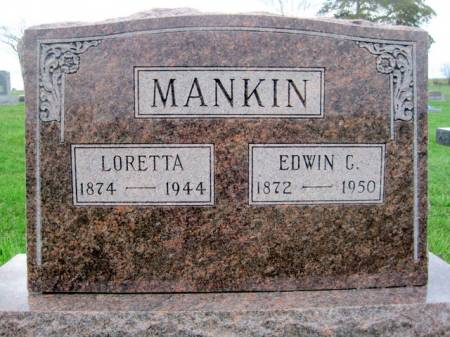 ROCKEFELLOW MANKIN, LORETTA - Van Buren County, Iowa | LORETTA ROCKEFELLOW MANKIN