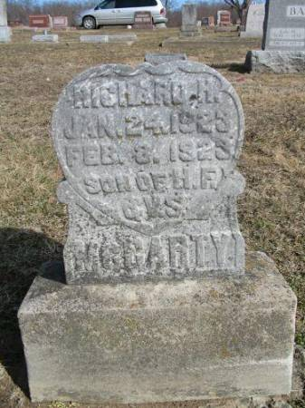 MCCARTY, RICHARD H. - Van Buren County, Iowa   RICHARD H. MCCARTY