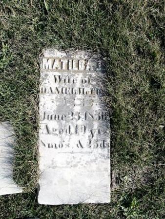 MCCOY, MATILDA J. - Van Buren County, Iowa | MATILDA J. MCCOY