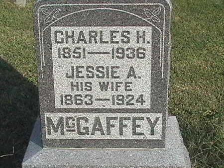 MCGAFFEY, JESSIE ANN - Van Buren County, Iowa | JESSIE ANN MCGAFFEY