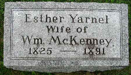 YARNEL MCKENNEY, ESTHER - Van Buren County, Iowa | ESTHER YARNEL MCKENNEY