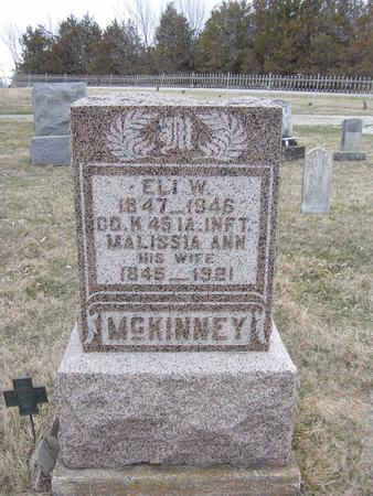 EDWARDS MCKINNEY, MALISSIA ANN - Van Buren County, Iowa | MALISSIA ANN EDWARDS MCKINNEY