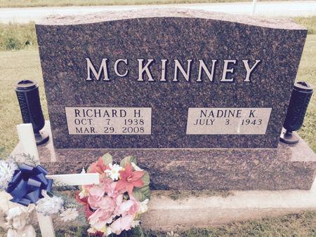 MCKINNEY, RICHARD H - Van Buren County, Iowa   RICHARD H MCKINNEY