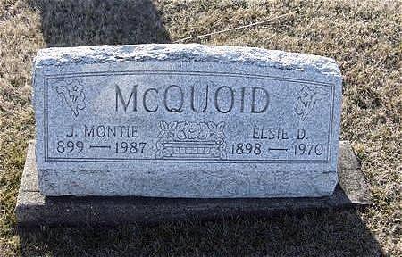 MILLER MCQUOID, ELSIE DOROTHY - Van Buren County, Iowa | ELSIE DOROTHY MILLER MCQUOID