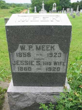 MEEK, JESSIE S. - Van Buren County, Iowa | JESSIE S. MEEK