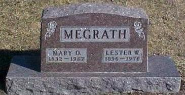 MEGRATH, LESTER W. & MARY O. - Van Buren County, Iowa | LESTER W. & MARY O. MEGRATH