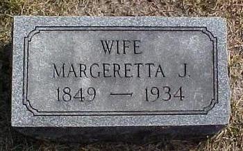 DUFFIELD MEGRATH, MARGERETTA JANE - Van Buren County, Iowa | MARGERETTA JANE DUFFIELD MEGRATH