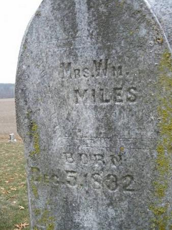 MILES, MRS. WM. - Van Buren County, Iowa | MRS. WM. MILES