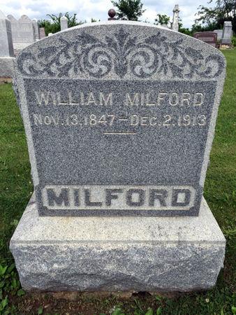 MILFORD, WILLIAM - Van Buren County, Iowa | WILLIAM MILFORD
