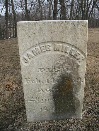 MILLER, JAMES - Van Buren County, Iowa | JAMES MILLER
