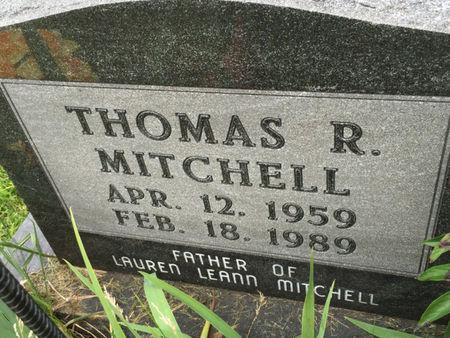 MITCHELL, THOMAS R. - Van Buren County, Iowa | THOMAS R. MITCHELL