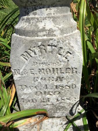 MOHLER, MYRTLE - Van Buren County, Iowa | MYRTLE MOHLER