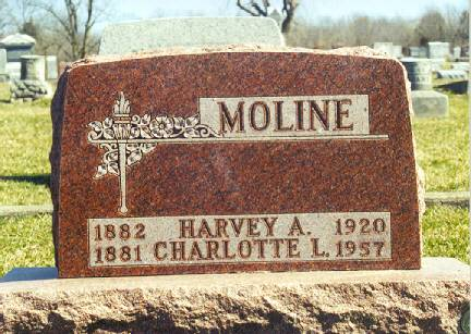 MOLINE, HARVEY A. AND CHARLOTTE L. - Van Buren County, Iowa | HARVEY A. AND CHARLOTTE L. MOLINE