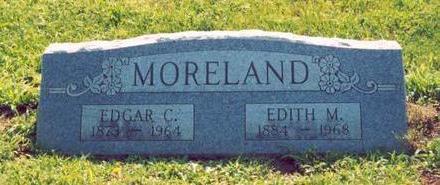 BUCKLES MORELAND, EDITH M. - Van Buren County, Iowa | EDITH M. BUCKLES MORELAND