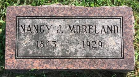 MORELAND, NANCY JANE - Van Buren County, Iowa | NANCY JANE MORELAND