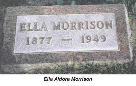 MORRISON, ELLA - Van Buren County, Iowa | ELLA MORRISON