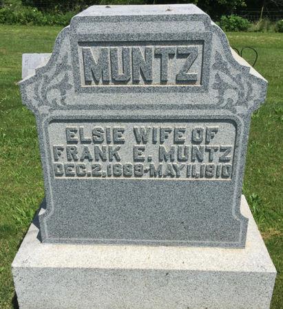 MUNTZ, ELSIE - Van Buren County, Iowa | ELSIE MUNTZ