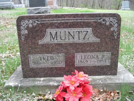 MUNTZ, FRED - Van Buren County, Iowa | FRED MUNTZ