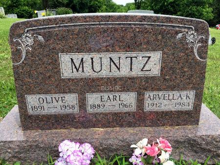 MUNTZ, OLIVE - Van Buren County, Iowa | OLIVE MUNTZ