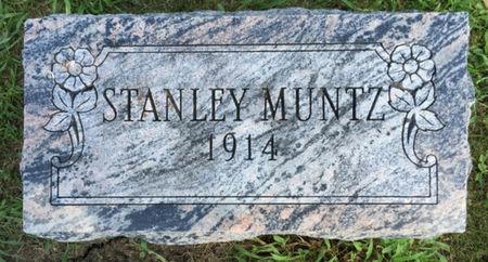 MUNTZ, STANLEY - Van Buren County, Iowa | STANLEY MUNTZ