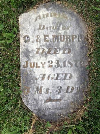 MURPHY, ANNIE - Van Buren County, Iowa | ANNIE MURPHY