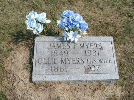 MYERS, JAMES P. & OLLIE - Van Buren County, Iowa | JAMES P. & OLLIE MYERS