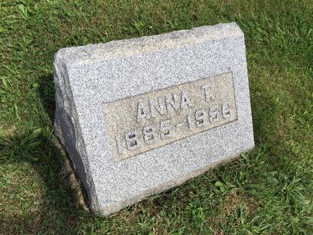 NELSON, ANNA T. - Van Buren County, Iowa | ANNA T. NELSON