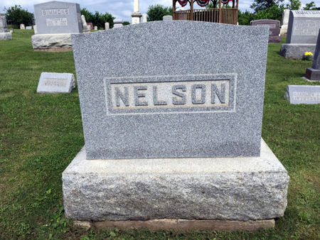 NELSON, FAMILY MONUMENT - Van Buren County, Iowa | FAMILY MONUMENT NELSON