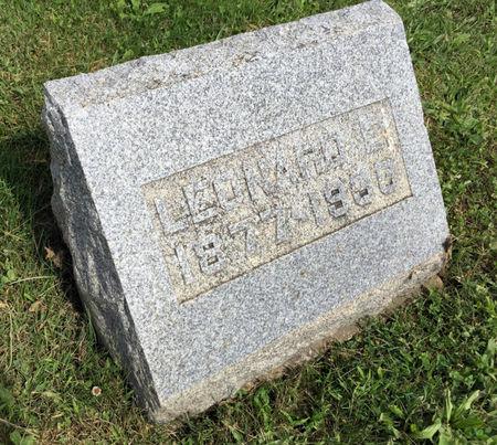 NELSON, LEONARD E. - Van Buren County, Iowa | LEONARD E. NELSON